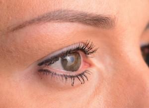Permanent Make-up für das Augenlid